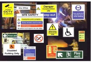 Penanda isyarat keselamatan kerja